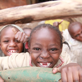 Kenyan Happiness by Jordan McGibney - People High School Seniors