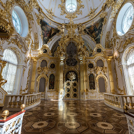 Chapel  in Winter Palace - St. Petersburg by Antonello Madau - Buildings & Architecture Places of Worship