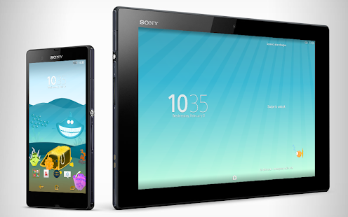 XPERIA™ Under The Surface Theme