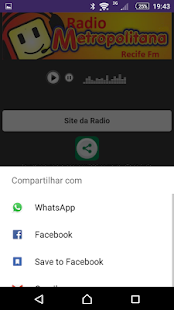Radio Metropolitana Recife - screenshot