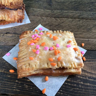 Carrot Cake Pop Tarts
