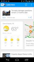Screenshot of WZZM 13