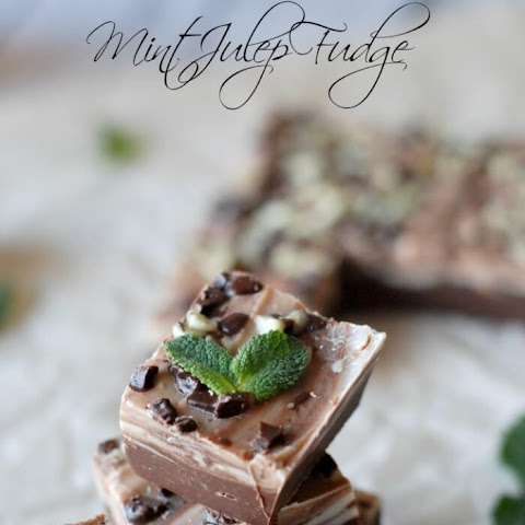 Mint Julep Fudge