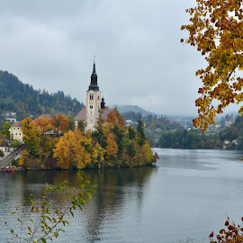 Pravljična jesen by Bojan Kolman - Buildings & Architecture Public & Historical