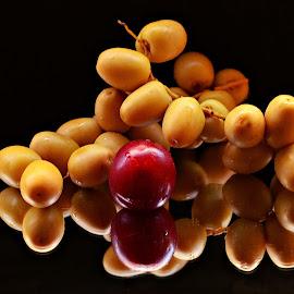 Dates by Prasanta Das - Food & Drink Fruits & Vegetables ( dates, still life, bunch )