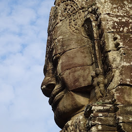 BAYON TEMPLE by Jenny Smith - Buildings & Architecture Statues & Monuments (  )