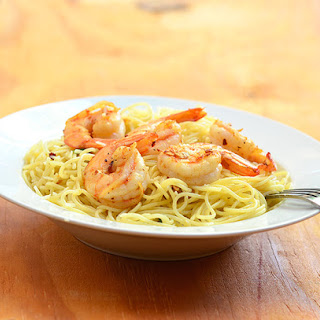 Garlic Butter Shrimp Pasta