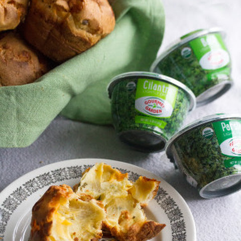 Cheesy Herbed Popovers