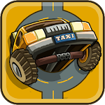 Drive In The Line Icon