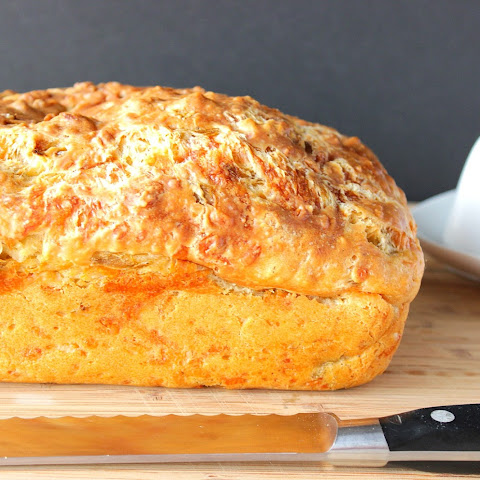 Cheesy Jalapeno Quick Bread