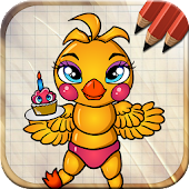 Draw Five Nights at Freddy's Monsters APK for Bluestacks