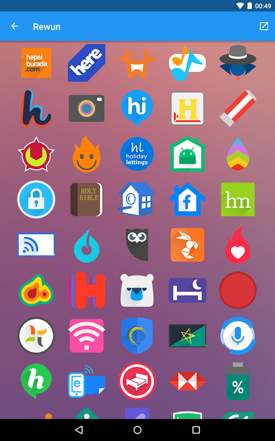 Rewun - Icon Pack Screenshot 14