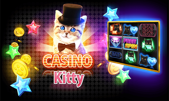 Casino Kitty Free Slot Machine APK screenshot thumbnail 1