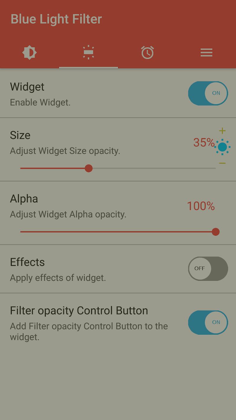 sFilter - Blue Light Filter Screenshot 4