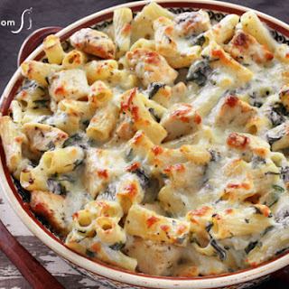 Chicken Spinach Pasta Bake Recipes