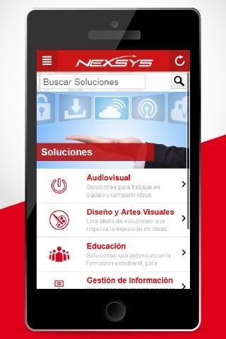 Nexsys de Colombia screenshot 2