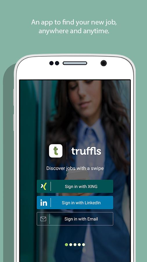 Truffls Job Search: Swipe Jobs Screenshot 0