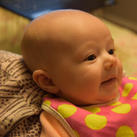 My First Grandchild by Harold Bradley - Babies & Children Babies ( grandchild, girl, beautidul, jade, baby, first, darling, young )
