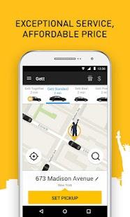 Gett - Car Service & Rideshare – Miniaturansicht des Screenshots