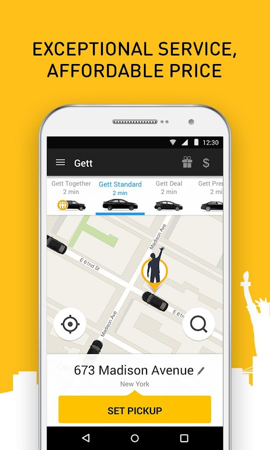 Gett - Car Service & Rideshare – Screenshot
