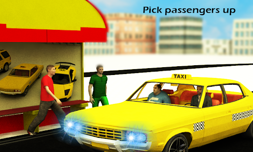 Modern Taxi Drive Simulator - screenshot