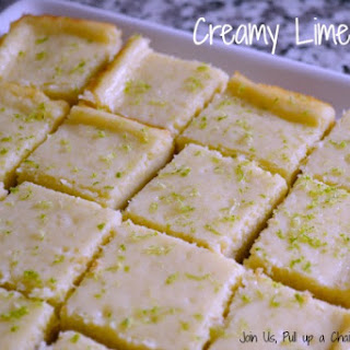 Creamy Lime Bars – #FilltheCookieJar