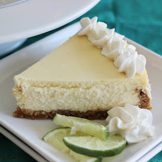 Key Lime Cheesecake with Macadamia Nut Crust