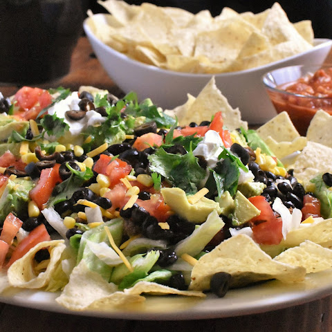 Taco Salad for a Crowd of Hungry People