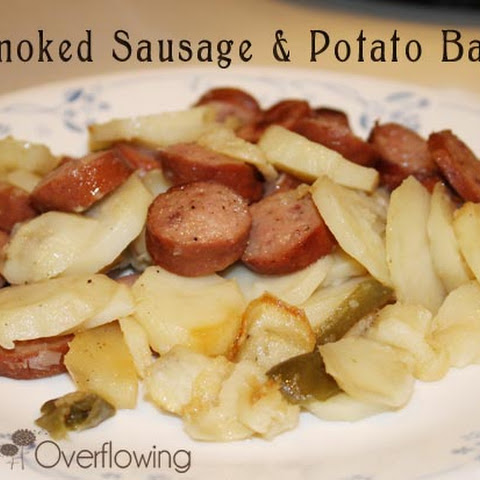Smoked Sausage & Potato Bake