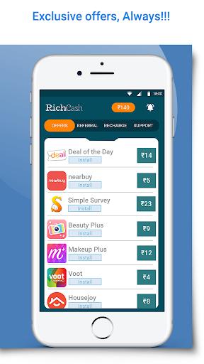 RichCash free recharge screenshot 2