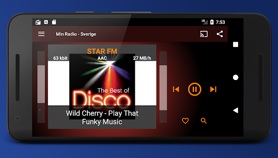 App Min Radio Sverige - Svensk radio med Chromecast. apk for kindle fire