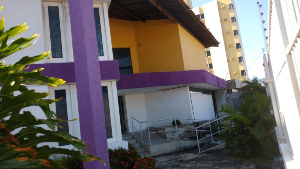 Casa com 5 dormitórios para alugar, 400 m² por R$ 6.500,00/mês - Jardim Oceania - João Pessoa/PB