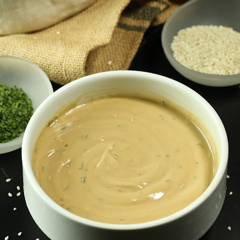 Oil-Free Tahini Goddess Dressing