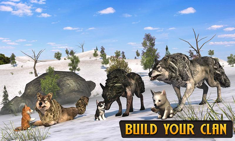 Wolf Life Simulation 2017 Screenshot 4
