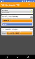 Screenshot of WiFi File Explorer PRO