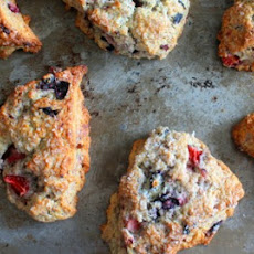 Mixed Berry Mascarpone Scones