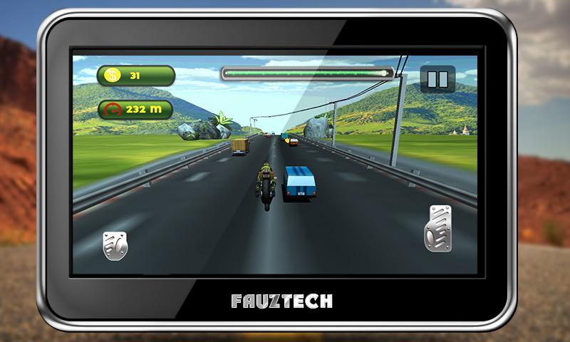 Highway Traffic Moto Racing Screenshot 2