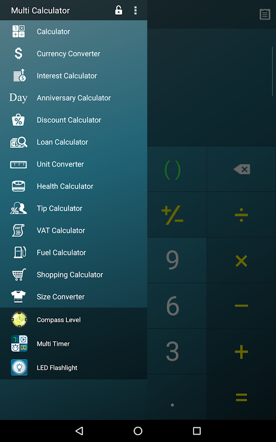 Multi Calculator Screenshot 16