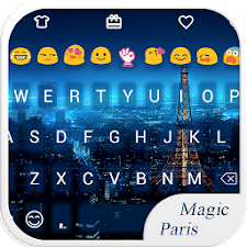Magic Paris Emoji Keyboard