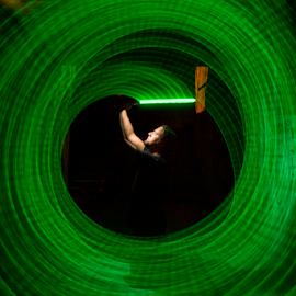 Light Sabre by Ivan Tomaš - Abstract Light Painting