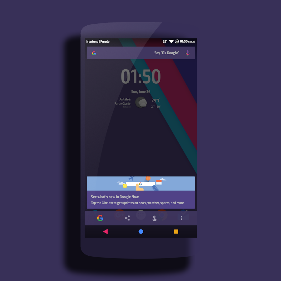 Neptune │Vibrant Theme CM13/12 Screenshot 17