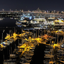 by Ryan Chornick - Buildings & Architecture Bridges & Suspended Structures ( skyline, boats, long exposure, marina, bridges )