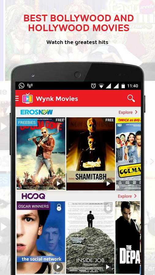 Wynk Movies Screenshot 2