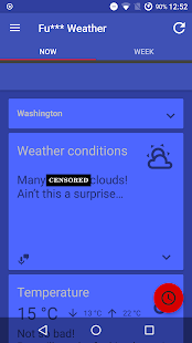 Free Fu*** Weather (Funny Weather) APK for Windows 8