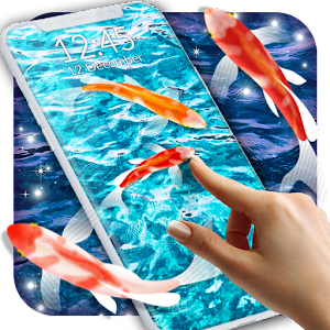 Koi Fish HD Live Wallpaper Icon