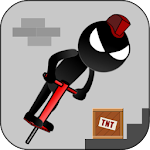 Stickman Pogo Icon