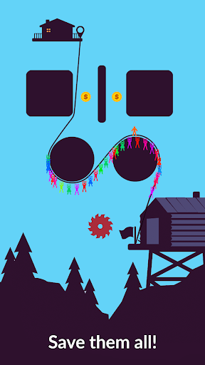 Zipline Valley - Physics Puzzle Game For PC