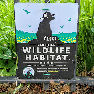 CERTIFIED WILDLIFE HABITAT FOOD• WATER•COVER•PLACES TO RAISE YOUNG This property is recognized for its commitment to sustainably provide the essential elements of wildlife habitat. ...