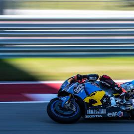 MotoGP by Austin Neelankavil - Sports & Fitness Motorsports ( panning )