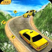 Verrückt Taxi Fahrer Hill Stat